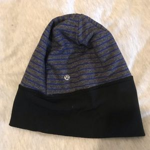 Lulu lemon run beanie